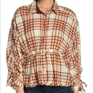 Free People | Pacific Dawn Plaid Button Down
